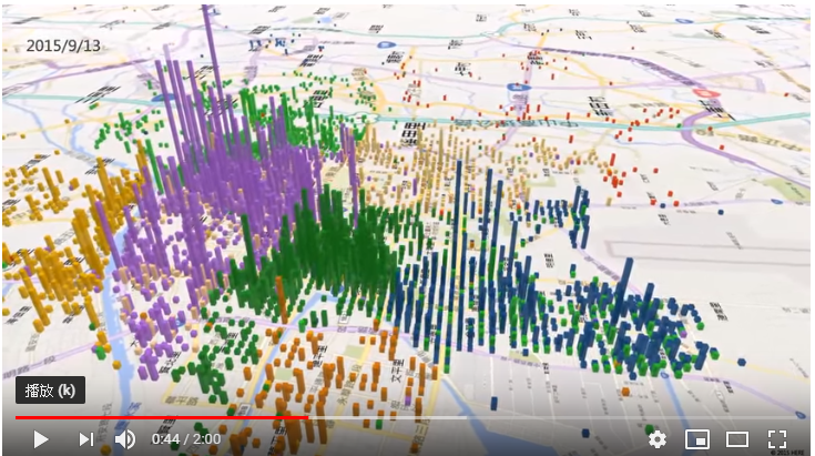台南登革熱09-15擴散地圖(2015 Tainan Dengue Fever Spread Map)